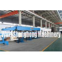 Buy cheap Hydraulic Steel Deck Roll Forming Machinery Steel Bar Truss Welding Machine from wholesalers