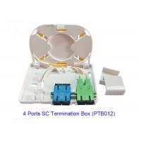 Buy cheap 4 Port SC Fiber Optic Terminal Box PTB012 For FTTX Network RoHS Approved from wholesalers