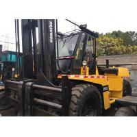 Buy cheap Komatsu Fd250z Second Hand Forklifts , 25T Used Forklift Heavy Duty from wholesalers