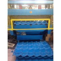 Buy cheap 5 Ton Hydraulic Uncoiler G.i Coil Roof Panel Roll Forming Machine Customized Profile from wholesalers