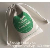 Buy cheap Candy Gift Pouch Bags with String Birthday Wedding Party Gift Jewlery Pouches Party Favor Jute Gift Bags Brown with Whit from wholesalers