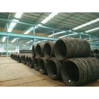 Buy cheap Hot Rolled Wire Rod In Coils , Steel Wire Rod EA2  6.5 mm for welding electrode from wholesalers