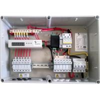 Buy cheap 10A String Monitoring Solar Panel Combiner Box 1000V DC With Steel / PC Boxes from wholesalers