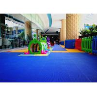 Buy cheap Anti Microbial Blue Kindergarten Flooring Tiles Portable Convenient product