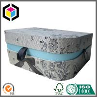 Buy cheap D Shape Gift Packaging Box with Front Lock; Lid Hinged Gift Paper Box from wholesalers