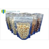 Buy cheap Transparent Food Plain Stand Up Pouches Heat Sealable PE Resealable product