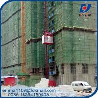 Buy cheap SC200 2000kg Building Construction Hoist Aingle Elevator Cage from wholesalers