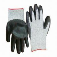 Buy cheap Cut Resistance Gloves with PU Coating from wholesalers