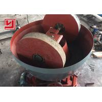 Buy cheap Gold Ore Dressing Equipment Wet Pan Mill Biomass Pellet Barite Grinding from wholesalers