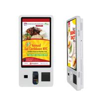 Buy cheap 32 Self Service Ordering Kiosk Touch Screen Free Standing Payment Interactive from wholesalers