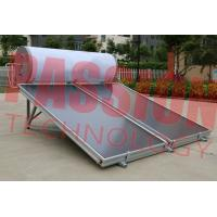 Buy cheap 300L and 150L Solar Panel Hot Water Heater , Solar Assisted Water Heater Blue Titanium product