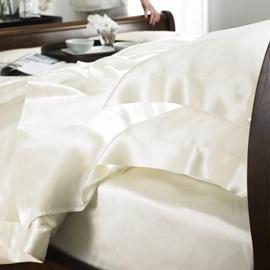China 100% Silk Sheet Set on sale