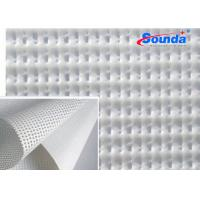 Buy cheap 1000 * 1000D  9 * 9 mesh banner polyester fabric for digital printing materials outdoor from wholesalers