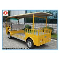 Buy cheap CE approved chinese 2 seater electric low chassis truck from wholesalers