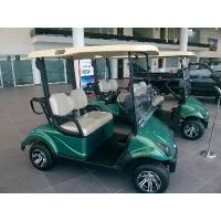 Green 48V 3KW Precedent 2 Seater Golf Carts With Rear Drum Brake For Golf Courses