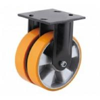 Buy cheap Double wheel Aluminum core PU Caster from Wholesalers