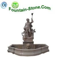 Buy cheap European Figure Sculptural Statues Carvings Marble Fountain For Outdoor from wholesalers