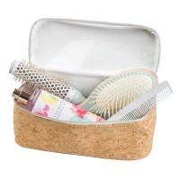 Buy cheap Custom Leather Cosmetic Bag , Bath Family Compact Wash Bag Eco Friendly from wholesalers