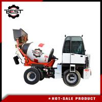 Buy cheap 1.2 Cubic Meters Self Loading Mobile Concrete Mixer Truck High Performance from wholesalers