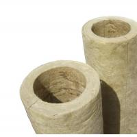 Buy cheap Yellow Rock Wool Pipe from wholesalers