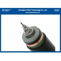 Buy cheap 18/30(35kv) AL/XLPE/CTS/PVC Medium Voltage Power Cables Single Core Copper Tape Screened from wholesalers