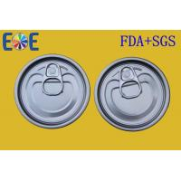Buy cheap Food Can Lid , Steel Tinplate Easy Open Ends 211# 65mm Food Grade from wholesalers
