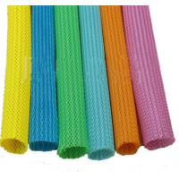 Buy cheap Automatic Telescopic 20mm Circular Braided Mesh Tube / Colored Round Snake Skin Mesh Protection Tube from wholesalers