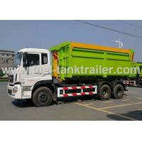 Buy cheap Hook Arm Roll Back Garbage Compactor Truck For 15-20 CBM Garbage Container from wholesalers