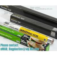 Buy cheap Eco Friendly Household 11micron Hamburger Wrapping Aluminium Foil Roll For Food Packaging Wrapping Foils, Embossed Alumi from wholesalers