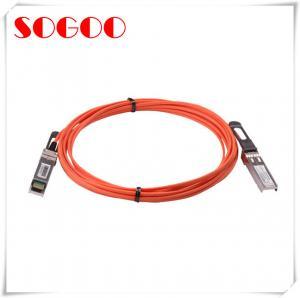 Buy cheap 3m Active Optical Coaxial Cable QSFP-H40G-AOC3M Cisco 40G QSFP Mode product