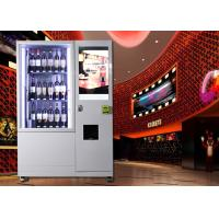 Buy cheap Wine beer bottle combo Vending Machine with Network LCD Advertising Display from wholesalers
