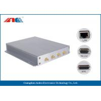 SMA*4 Antenna Interface Long Range RFID Reader Reading Range 90CM With Four Channels