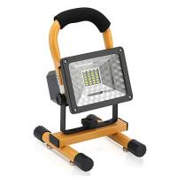 Buy cheap Portable Outdoor Solar Camping Lights / 10W LED Spot Work Light With Magnet Base Rechargeable Lithium Battery product