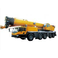 Buy cheap Retractable Boom hydraulic crane truck , 130 Ton large mobile crane from wholesalers