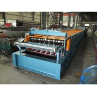Buy cheap Automatic Metal Deck Roll Forming Machine / Steel Deck Roll Former from wholesalers