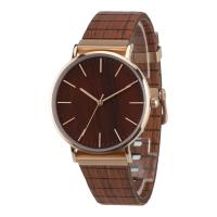 Buy cheap Boyear Mens Stainless Steel Case Wooden Wrist Watch ,Ladies Fashion Dress Bamboo Watch OEM,Couple wrist watch from wholesalers