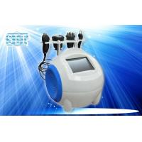 Buy cheap 4 In 1 Ultrasonic Cavitation Body Slimming Machine / Tripolar Radio Frequency Facial Lift from wholesalers
