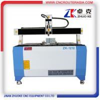 Buy cheap 4th rotary axis CNC Engraving Carving Machine with Mach3 controller ZK-1212-2.2KW from wholesalers
