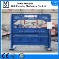 Buy cheap 2.5m Heavy Roofing Sheet Bending Machine , Cr12 Cutting Blade Roof Bending Machine from wholesalers