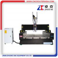 Buy cheap China stable economic CNC Router Machine for Stone wood metal with air cylinder ZK-1212 from wholesalers