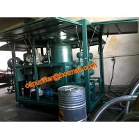 Buy cheap portable transformer oil filtration machine with online moisture PPM sensor and online alarm, bdv value test from wholesalers