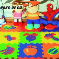 Buy cheap Eco-friendly Children Fruit Puzzle Mat from wholesalers