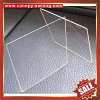 Buy cheap excellent solid PC polycarbonate sheet sheeting plate board panel for roof and decoration from wholesalers