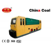 Buy cheap Explosion Proof 12 MTs Double Cabs Battery Locomotive for Underground Coal Mines from wholesalers
