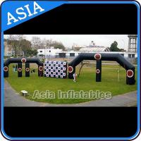 Buy cheap PVC tarpaulin inflatable double door entrance for advertising from wholesalers