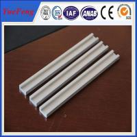 Buy cheap 6000 series extrusion natural anodized u-shaped aluminum channel sizes from wholesalers