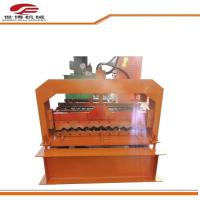 Buy cheap Automatic Metal roof wall Corrugated color steel roll forming machine from wholesalers