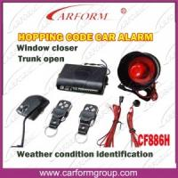 Buy cheap Hopping Code Auto Alarms Systems Weather Condition Identification Function CF886H from wholesalers