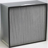 Buy cheap HEPA Panel Filter with Clapboard for clean room filter, dust filter, ventilation and filtering system from wholesalers