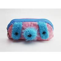 Buy cheap Special Design Pencil Pouch Bag Cute Fabric Zipped Pencil Case For Girls from wholesalers